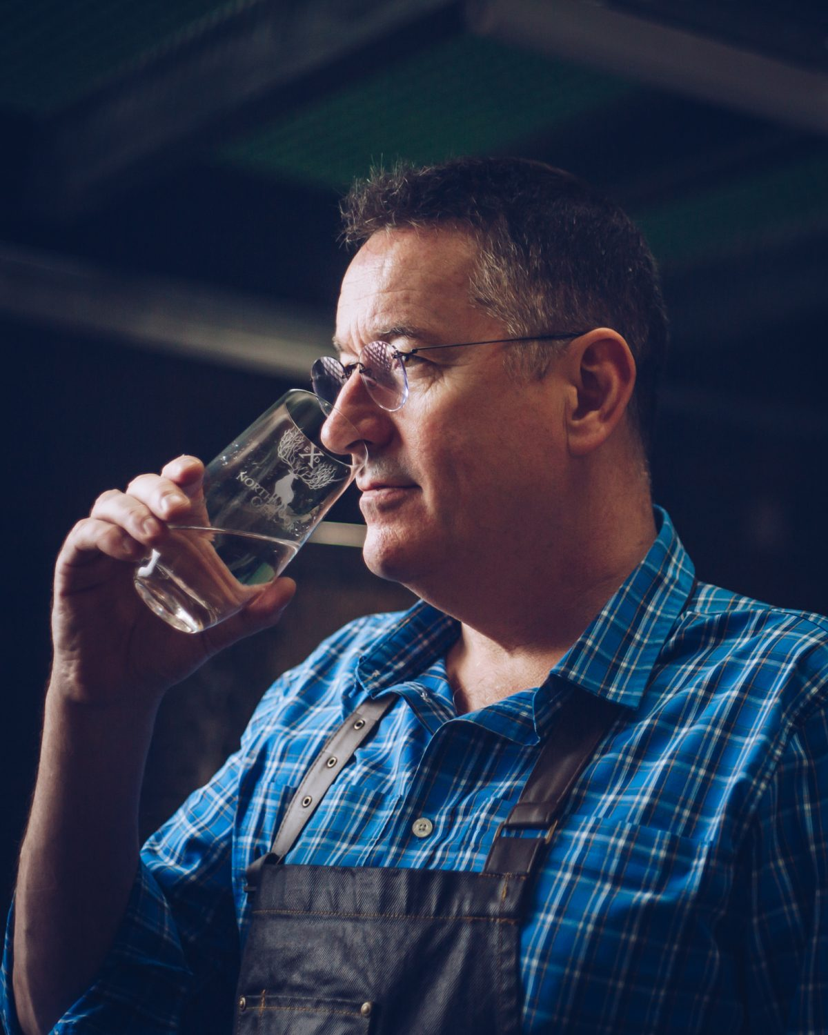 John working in the Distillery