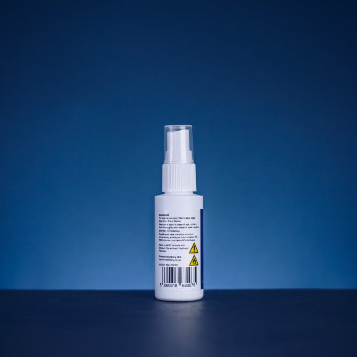 Exmoor Hand Sanitiser 5ml back