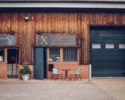 Front of Exmoor Distillery