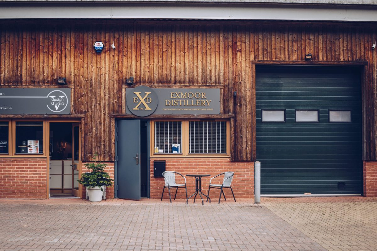 Front of Exmoor Distillery