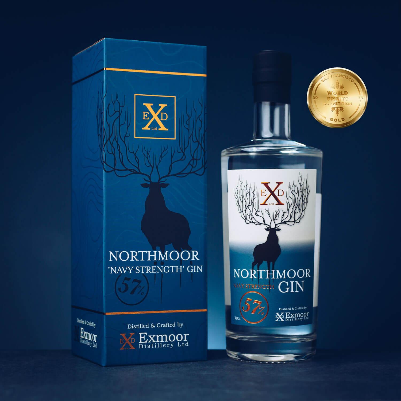 Northmoor Navy with gift box Gold Award SFWSC